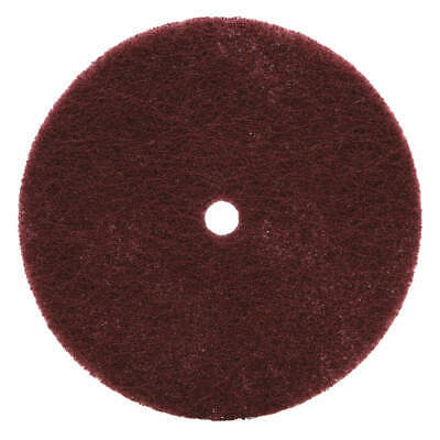 SCOTCH-BRITE Fiber Disc,6x1/2in,VF,AlO, 61500137700, Maroon