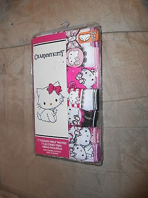 Girl's 7 Pack Sanrio Charmmy Kitty  - Size 2T/3T - 100% Cotton - NEW in Pkg