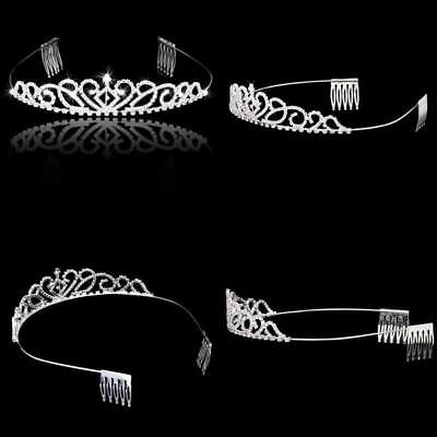 Womens Bridal Tiaras Princess Crowns with Combs for Weddings Parties Special