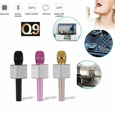 Q9 Bluetooth Mikrofon  Karaoke Player Wireless Portable  Microphone LautsprecheO