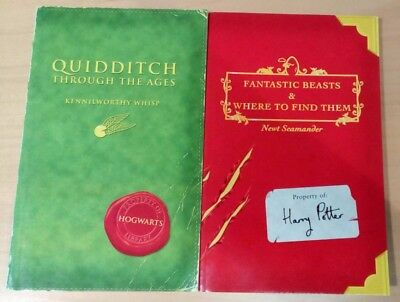 Harry Potter - Quidditch & Fantastic Beasts, 1St Edition, 2001 Comic Relief Book