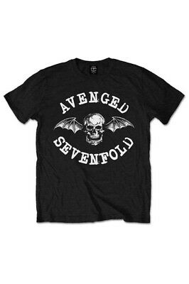 Avenged Sevenfold, Classic Deathbat T-Shirt [Black]