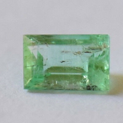 Emerald 0.53ct emerald cut natural Emerald