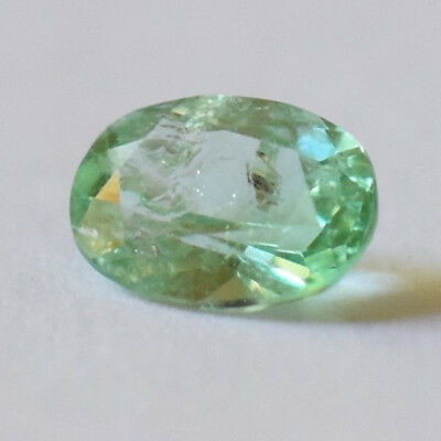 Emerald 0.74ct oval cut natural Emerald