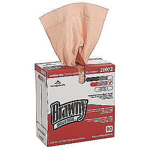 GEORGIA-PAC DRC (Double Re-Creped) Disposable Wipes,Double Re-Creped,PK10, 20072