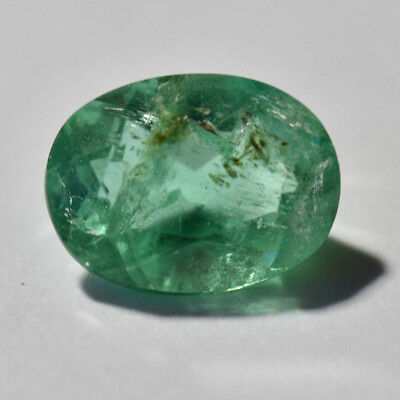 Emerald 1.10ct oval cut natural Emerald