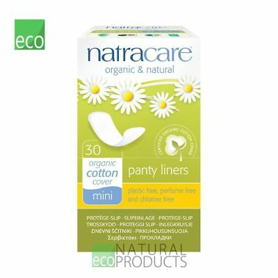Natracare Organic Mini Panty Liner 30 pcs