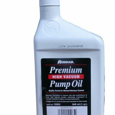 ROBINAIR Premium Vacuum Pump oil 968ml
