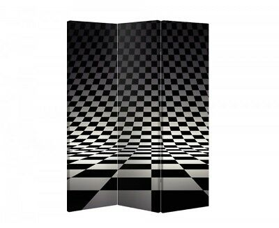 Double Sided Canvas Dressing Screen Room Divider 03345 All Sizes