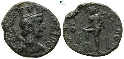 Savoca Coins Troas Alexandria Tyche Apollo Branch 5,02 g / 22 mm @SON15987