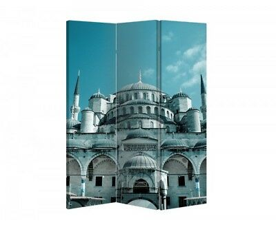 Double Sided Canvas Dressing Screen Room Divider 03326 All Sizes