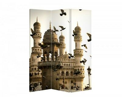 Double Sided Canvas Dressing Screen Room Divider 6487 All Sizes
