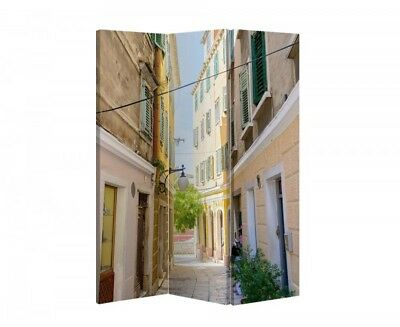 Double Sided Canvas Dressing Screen Room Divider 08093 All Sizes