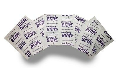 RETAINER BRITE TABLETS...Set of 20 tablets..New...Instructions inc..Denture clea