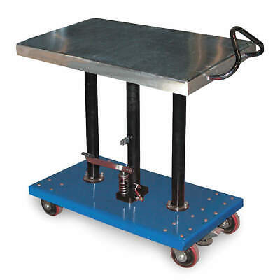 GRAINGER APPROVED Hydraulic Lift Table, 20x36x54 In., HT-10-2036A