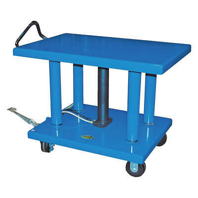 GRAINGER APPROVED Hydraulic Lift Table, 32x48,54 In., HT-60-3248