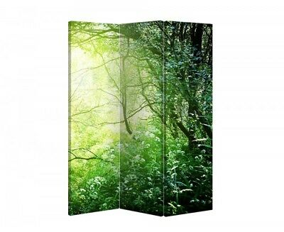 Double Sided Canvas Dressing Screen Room Divider 05451 All Sizes