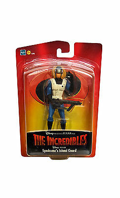 The Incredibles: Syndrome Island Guard. Sealed Excellent Condition