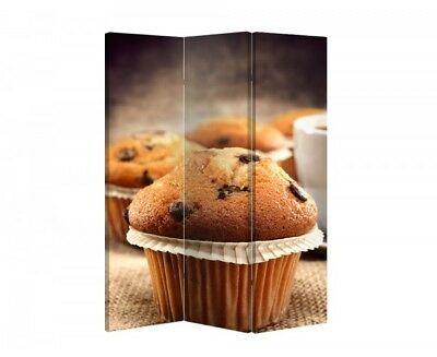Double Sided Canvas Dressing Screen Room Divider 08981 All Sizes