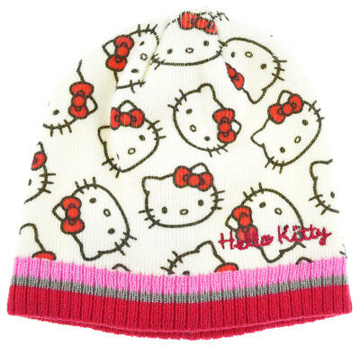 ee6949c9fec Hello Kitty Hat Girls Winter Beanie Ages 1 To 3 Years