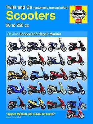 Peugeot Buxy Elyseo 50 100 125 Haynes Automatic Scooter Service & Repair Manual