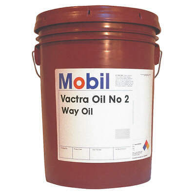 Mobil Vactra No.2,Way Oil, 5 gal, ISO 68, 105480, Brown