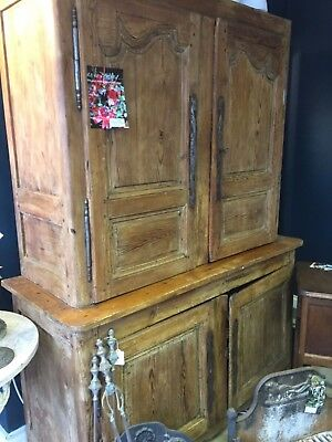 French Buffet / Larder Cupboard Antique Pine