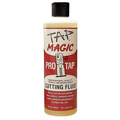 TAP MAGIC Cutting Oil,16 oz,Squeeze Bottle, 30016P, Yellow