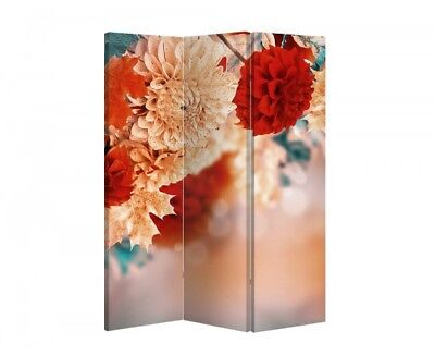 Double Sided Canvas Dressing Screen Room Divider 08602 All Sizes