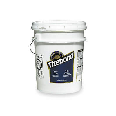 TITEBOND Wood Glue,Interior,5 Gal,White, 5027, White