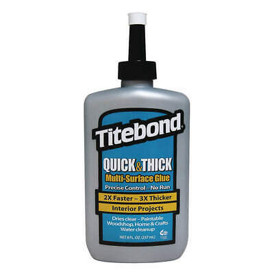 TITEBOND Wood Glue,Multi-surface,8 Oz,Beige, 2403, Beige