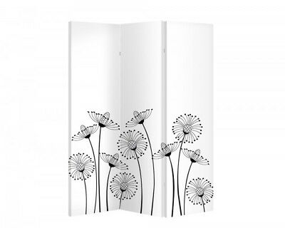 Double Sided Canvas Dressing Screen Room Divider 10975 All Sizes