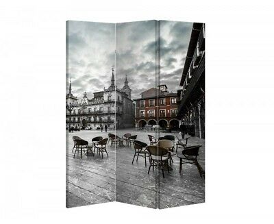 Double Sided Canvas Dressing Screen Room Divider 11000 All Sizes