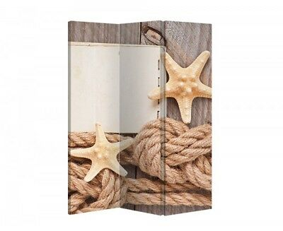 Double Sided Canvas Dressing Screen Room Divider 6779 All Sizes