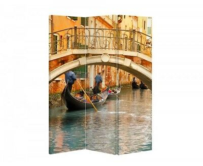 Double Sided Canvas Dressing Screen Room Divider 03330 All Sizes