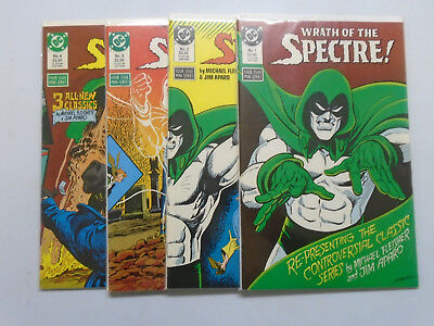 Wrath of the Spectre, Set:#1-4, 8.0/VF (1988)