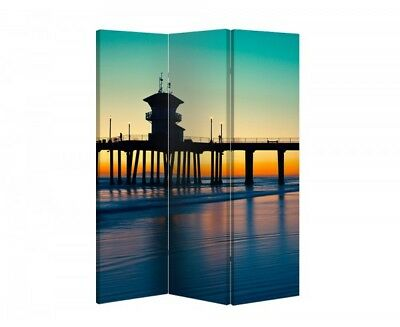 Double Sided Canvas Dressing Screen Room Divider 7078 All Sizes