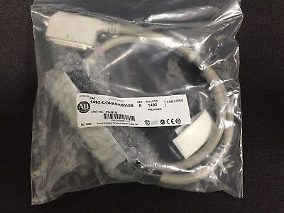 "NEW Allen Bradley 1492-CONACAB010B ser. A PRE-WIRED MODULE CABLE, 1M LONG ""NEW"""