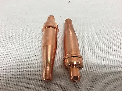 2 each Acetylene Cutting Tip 1-1-101 for Victor Oxyfuel Torch  Comeaux Supply