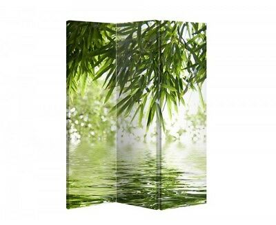 Double Sided Canvas Dressing Screen Room Divider 04723 All Sizes