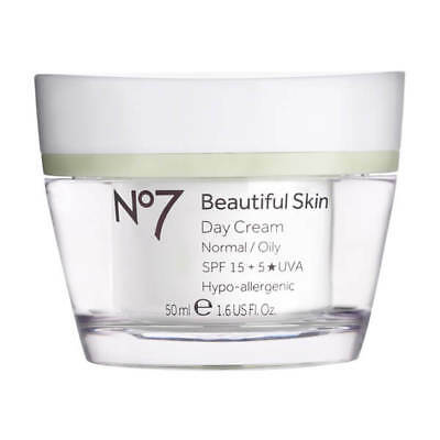 No7 beautiful skin day cream for normal/oily skin - 50ml BOXED