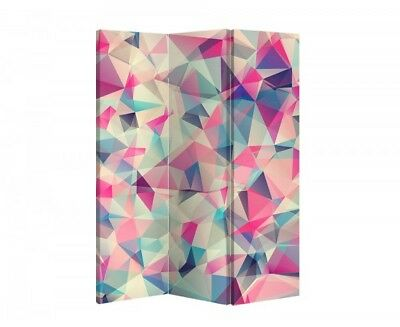 Double Sided Canvas Dressing Screen Room Divider 11088 All Sizes