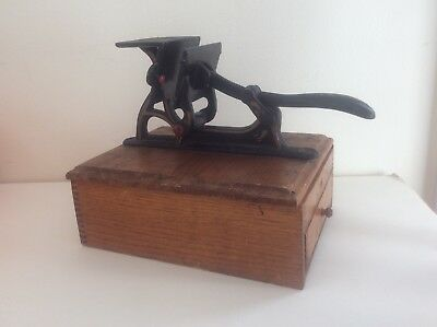 Antique Letterpress Printer Traveling RARE.  Great Piece of History!