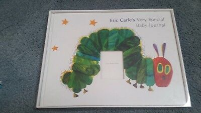 NEW Eric Carle's Very Special Baby Journal Scrapbook Hungry Caterpillar Book Boy