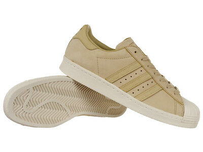 timeless design e1575 94cf6 adidas Originals Superstar 80s Schuhe Beige Leder Sneaker Herren Damen  BY2507
