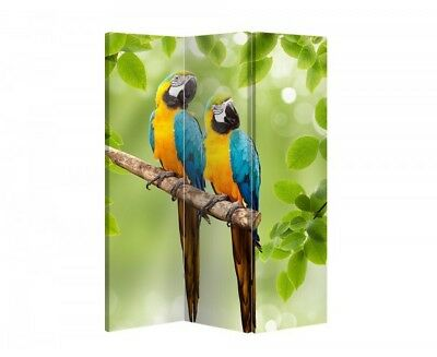 Double Sided Canvas Dressing Screen Room Divider 08970 All Sizes