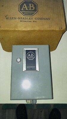Allen Bradley A/c Automatic Starter -Type 1- Cat. No. 709-Taxd ~ No Reserve~ New