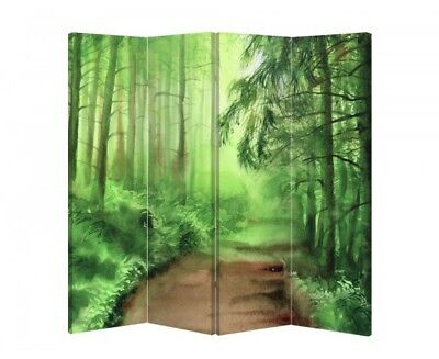 Double Sided Canvas Dressing Screen Room Divider 04529 All Sizes