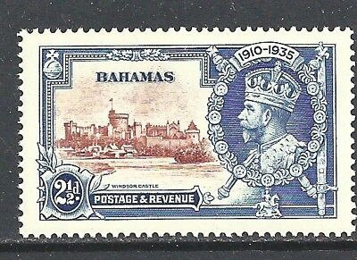 BAHAMAS  1935 Silver Jubilee 2½d brown and - 83012