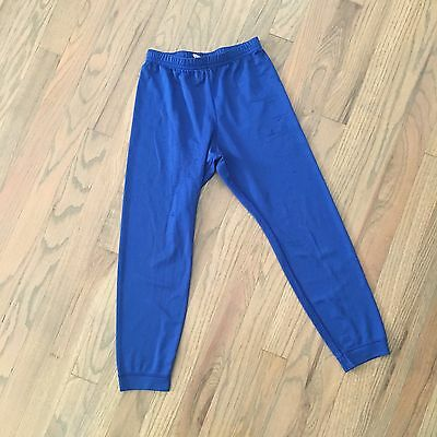 Patagonia Capilene Kids Base Layer Bottoms Blue Size 10 Years Play Condition